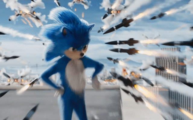 คุณไม่สามารถมองเห็นตัวอย่าง Sonic The Hedgehog ตัวแรกได้