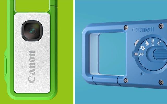 Canon đã gắn ống kính điện thoại thông minh vào ổ đĩa flash cho máy ảnh clip-on tí hon này