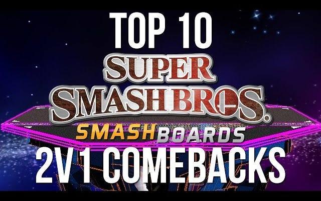 Diez veces, un jugador venció a dos en Professional Smash Bros.