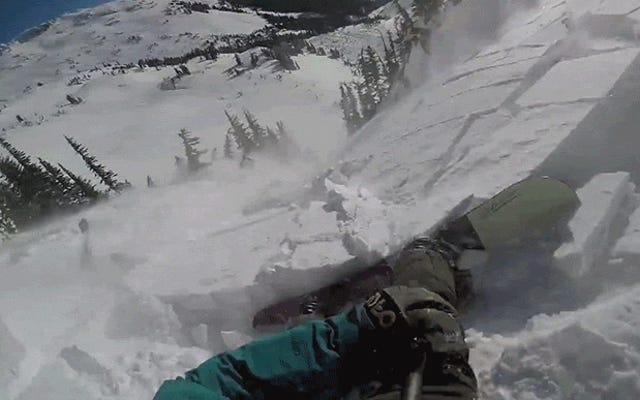 हिमस्खलन में फंसना कैसा लगता है