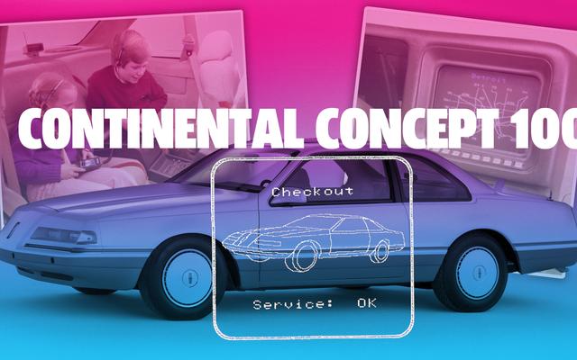 Niesamowity i ledwo pamiętany samochód koncepcyjny Forda z 1982 r. Miał nawigację satelitarną Pre-GPS i pierwszą zintegrowaną konsolę do gier wideo