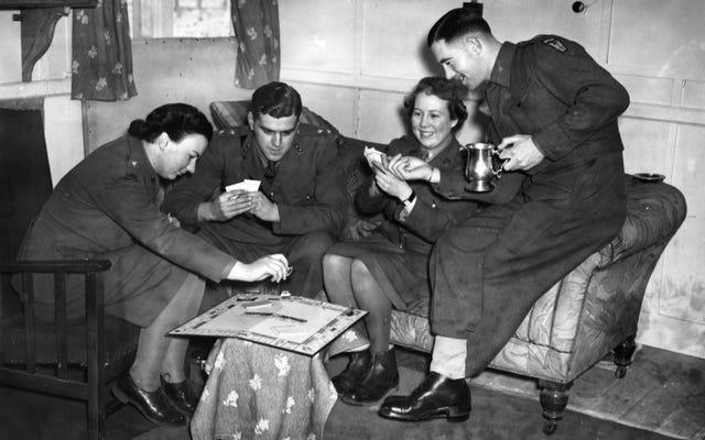 独占が第二次世界大戦の勝利にどのように役立ったか