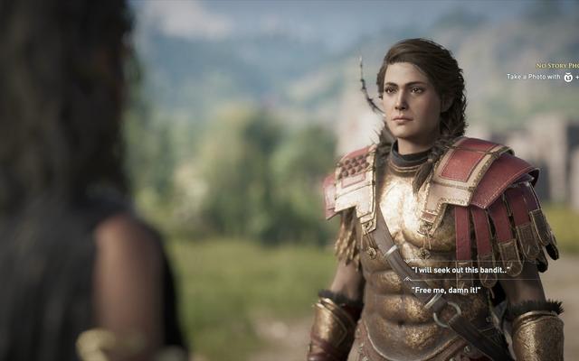 Assassin's Creed Odyssey's Story Creator jest prosty, ale zabawny