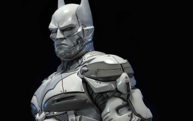 これが900ドルのバットマン:アーカムナイトの像です