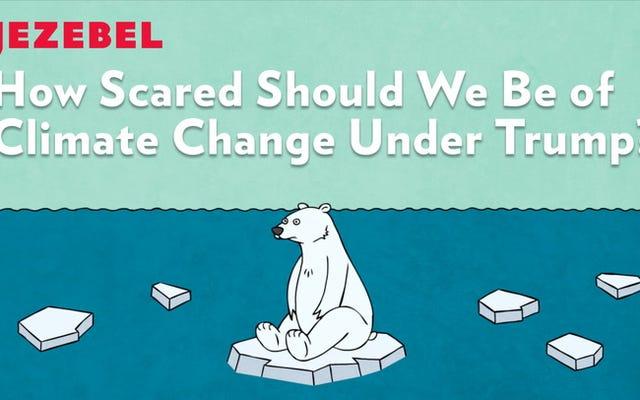 この環境科学者は、トランプの下の世界について「恐ろしく、心配し、憤慨している」