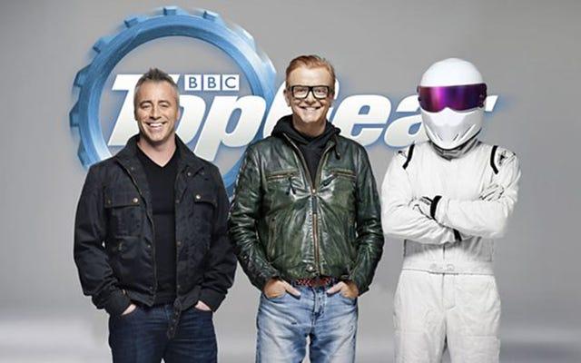 Второй ведущий Top Gear - Мэтт Леблан из друзей
