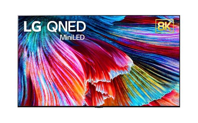 LG, le meilleur fabricant de téléviseurs OLED, fait maintenant aussi des téléviseurs mini-LED