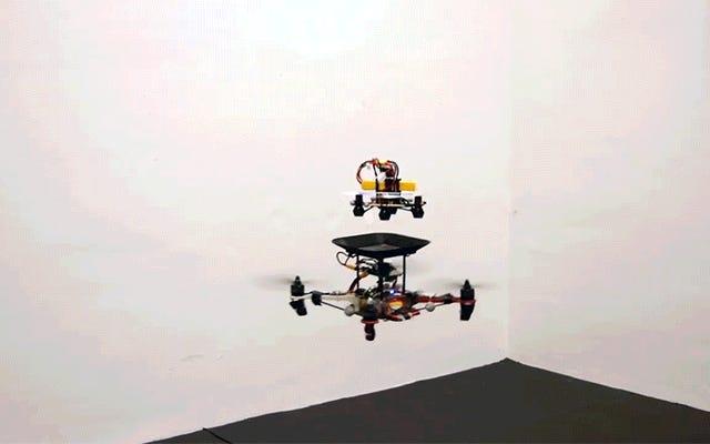 Baterai Pengganti Terbang Secara Masif Dapat Meningkatkan Waktu Terbang Drone