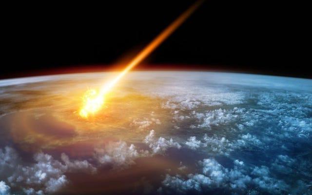 地球上でこれまでに記録された最高気温は2,300℃を超えており、それは小惑星のせいでした