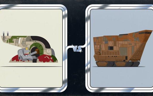 宇宙でも地球でも、ボバ・フェットの船やジャワのサンドクローラーは用事を実行するのに適していますか?