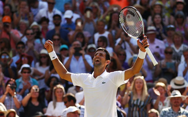 Novak Djokovic dengan tegas Menyingkirkan Kevin Anderson Untuk Mahkota Wimbledon Keempat