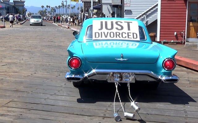 私の結婚は終わりました。私の友達のほとんどは知らない