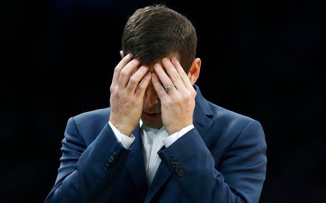 แกนนำรุ่นเยาว์ของเซลติกส์ไม่สามารถรักษาผู้นำ 28 คะแนนได้หลังจากผู้เล่นสตาร์ลงสนาม