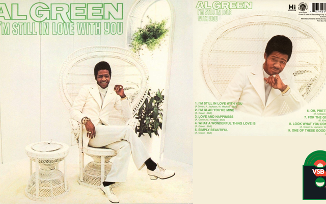 28日間のアルバムカバーBlacknessWith VSB、1日目:Al Green I'm Still In Love With You(1972)