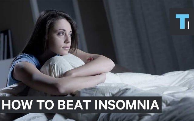 この簡単な呼吸法は、夜に眠りにつくのに役立ちます