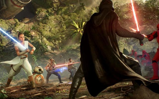 L'aggiornamento The Rise Of Skywalker mostra quanto sia arrivato Battlefront II