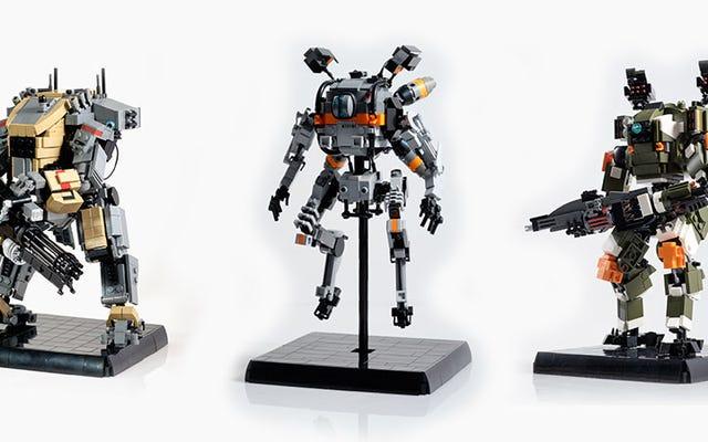 Niestandardowe LEGO Titanfall jest świetne