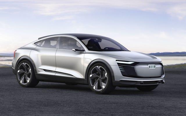 アウディE-TronSportbackは、アウディの電気の未来です