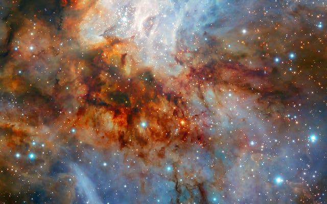 遠い星団の忘れられない美しさを見よ