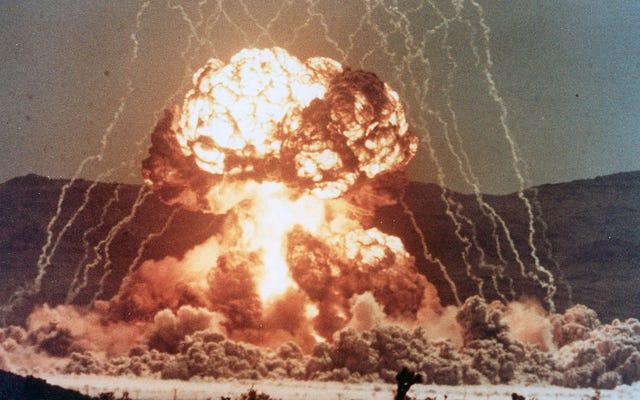 物理学者が核爆弾の爆発でどのようにタバコに火をつけることができたか