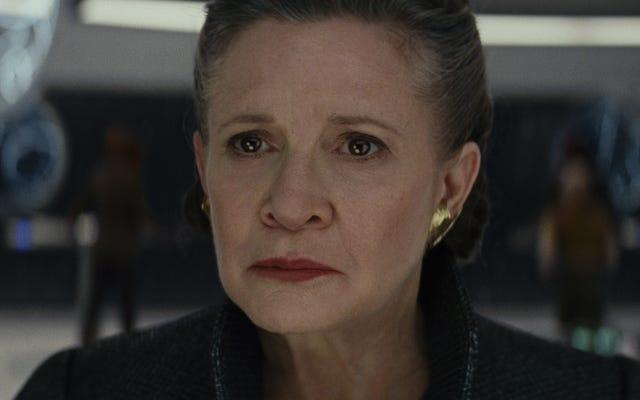 Star Wars: Episodio IX completará el arco de Leia Organa con imágenes de The Force Awakens