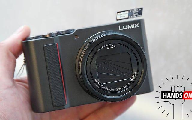 पैनासोनिक का ZS200 एक छोटे कैमरे में एक बहुत बड़ा ज़ूम डालता है