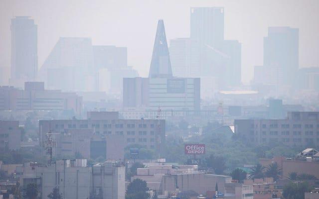 Mexico City, Dumanlı Gökyüzünü Temizlemek İçin Araba Yasağını İkiye Katlıyor