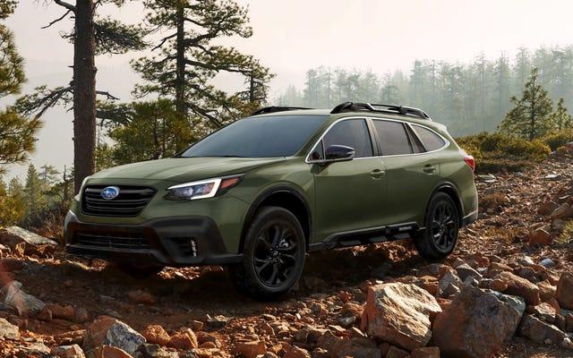 Le Subaru Outback 2020 reçoit un moteur Boxer de 260 ch et un écran de tablette géant