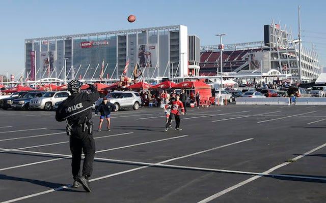 Les 49ers veulent transformer les terrains de football pour jeunes en parkings