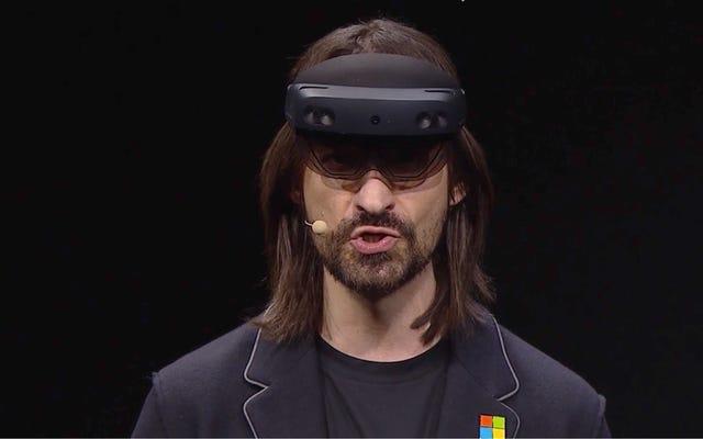 MicrosoftがHoloLens2で紛らわしいメッセージを送信