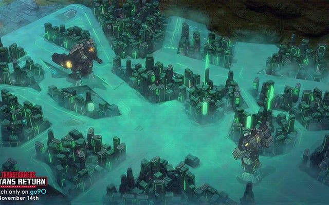 La più grande battaglia dei Transformers in Titans tornerà la prossima settimana