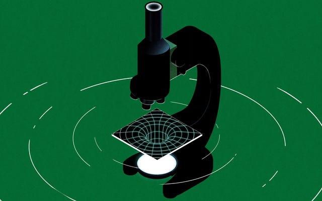 科学実験室でブラックホールを作る方法