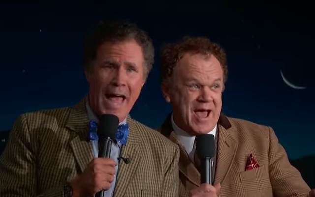 ウィル・フェレルとジョン・C・ライリーが再会し、ジミー・キンメルライブでとてもばかげていると感じます!