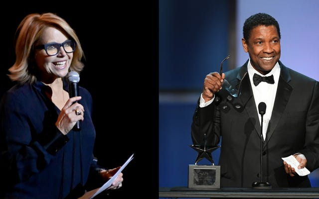 King Kong Ain't Got Nothin 'on Katie Couric's Reach, Says She Felt' Shaken 'by Denzel Washington Interview