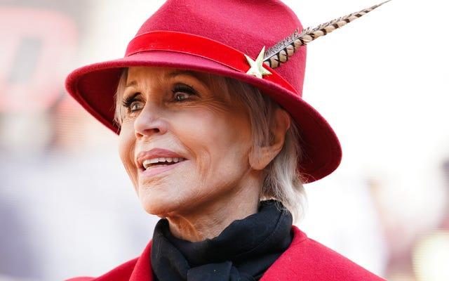 Jane Fonda akan menerima penghargaan Cecil B. DeMille di Golden Globes tahun ini