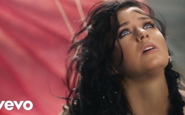 Olimpiyat Marşı 'Rise' İçin Videoda Katy Perry Çok Düştü