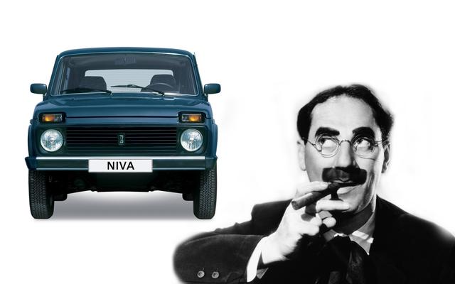 簡単な質問:LadaNivaはGrouchoMarxに最も似ている車ですか?