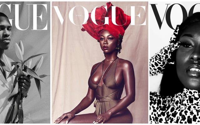 Storie di copertina: #VogueChallenge è una rivoluzione della bellezza nera per il mondo della moda