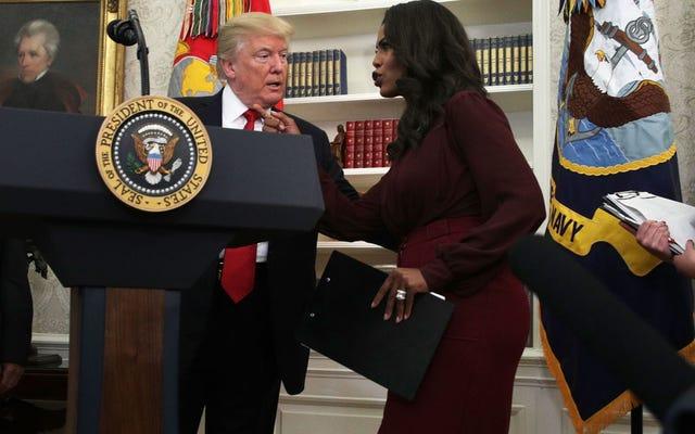 オマロサは大統領が悪い報道から気をそらすために彼が漏らすであろうクレイジーな政策アイデアのリストを持っていることを確認します