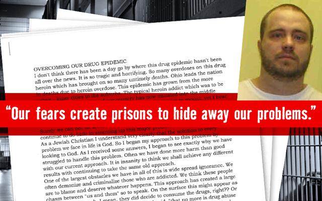 Gary Otte, Zaplanowana śmierć w przyszłym tygodniu, pisze o narkomanii