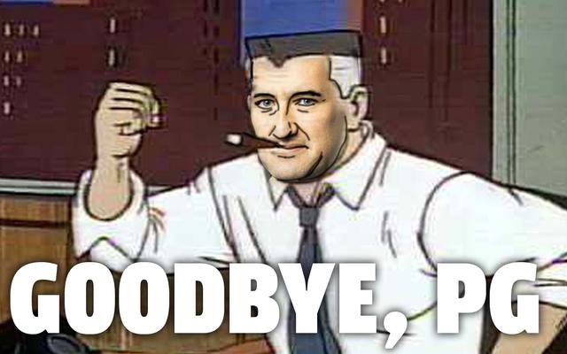 Dla Patricka George'a zabawa się skończyła