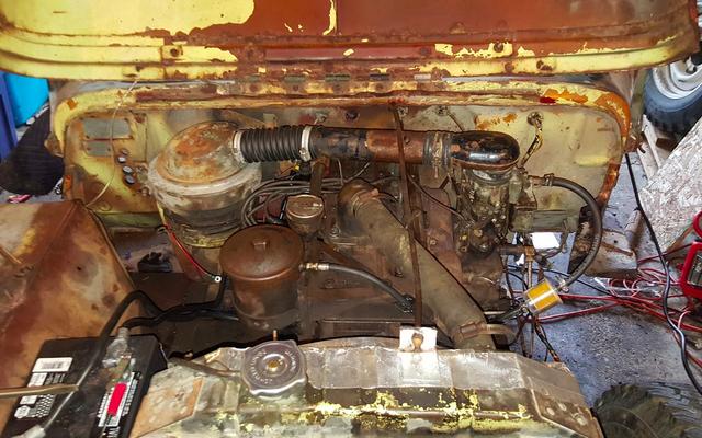 Mon projet hors route Jeep de 1948 montre enfin des signes de vie