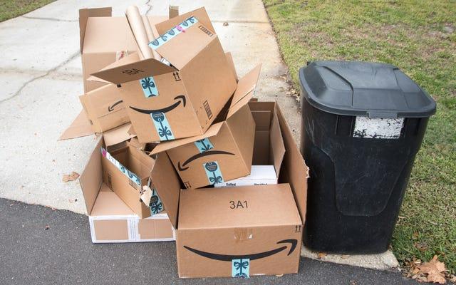 Amazonのパッケージの無駄を減らす方法