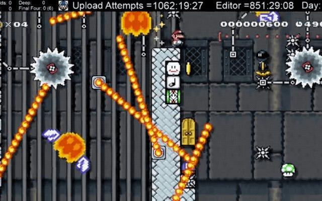 Le niveau Mario Maker le plus difficile à ce jour: son créateur essaie de le surmonter depuis 2000 heures