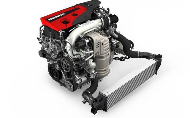 Honda hat einen 306 PS Kistenmotor vom Typ Civic, wenn Sie Rennen fahren möchten