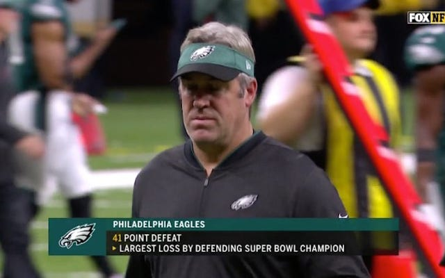 Ass Team Of The Week: Ty i Philadelphia Eagles zostaniecie zdeptani przez Stampede of Time i pozostawieni na śmierć