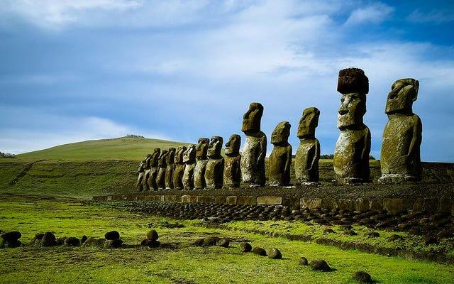 何がラパヌイを殺したのですか?イースター島の文明の崩壊を説明した仮説は誤りです