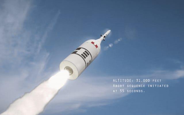 Abandonner un lancement de la capsule Orion de la NASA semble absolument horrible