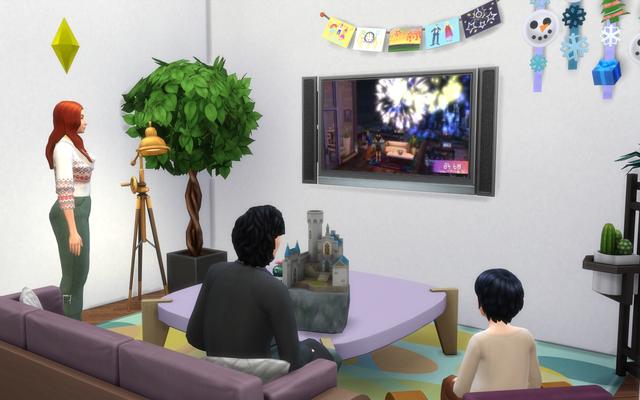 The Sims 4 cattura inaspettatamente la parte migliore del capodanno
