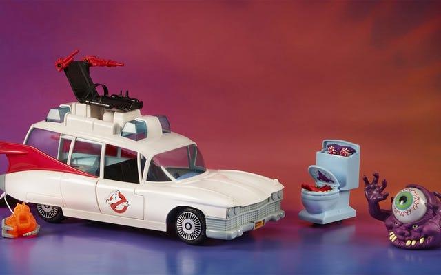 Hasbro ramène les jouets Ghostbusters doux des années 1980